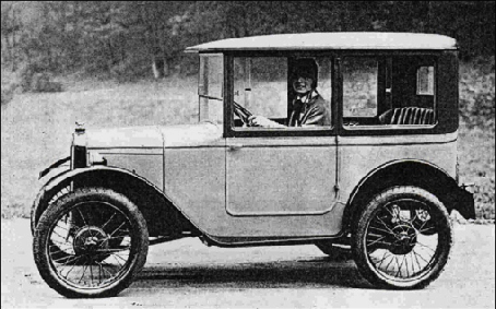Beliebt bei den Damen: Die zweisitzige Limousine