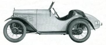 Der Wagen basiert in seiner Technik auf dem DA2. Aluminiumkarosserie, ohne Türen, Spitzheck, Durch eine höhere Verdichtung, Kupferansaugrohr und modifizierten Vergaser erreichte man 18 PS. Insgesamt wurden 151 Fahrzeuge gefertigt.